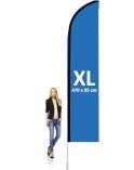 Reklámzászló uszony XL